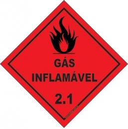 Classe 2 - Gás Inflamável 2.1