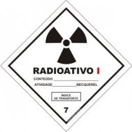 Classe 7 - Radioativo I