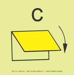 Ventilação do Espaço de Cargas com Fechamento Manual  (Closing Device for Ventilation Inlet or Outlet for Cargo Spaces)