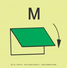 Ventilação da Praça de Máquinas com Fechamento Manual  (Closing Device for Ventilation Inlet or Outlet (machinery spaces))