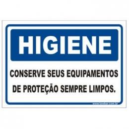 Conserve Seus Equipamentos de Proteção Sempre Limpos