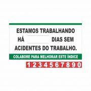 Contagem de acidente CIPA