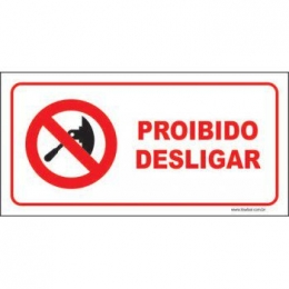 Proibido desligar