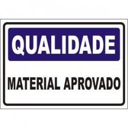 Material aprovado