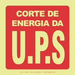 Corte de Energia da U.P.S