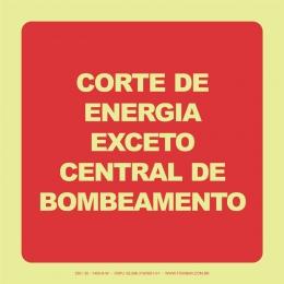 Corte de Energia Exceto Central de Bombeamento