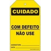 Cuidado - Com defeito não use