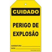Cuidado - Perigo de explosão
