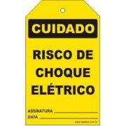 Cuidado - Risco de choque elétrico