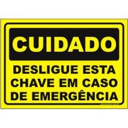 Desligue Esta Chave Em Caso de Emergência