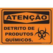 Detrito de Produtos Químicos