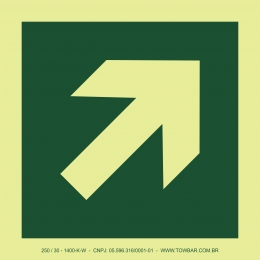 Diagonal Arrow