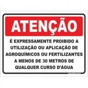é Expressamente Proibido a Utilização Agroquímicos