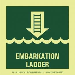 Escada de embarque (Embarkation Ladder)