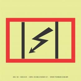 Painel de distribuição elétrica (Emergency Switchboard)