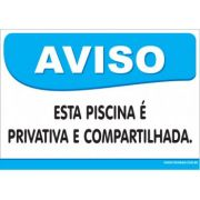 Esta Piscina é Privativa e Compartilhada.
