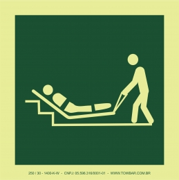 Colchão de evacuação (Evacuation mattress)