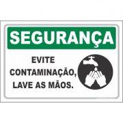 Evite Contaminação, Lave As Mãos