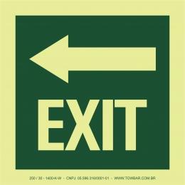 Exit - Left Arrow