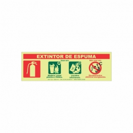 Extintor espuma