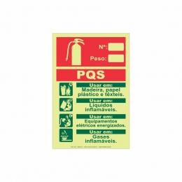 Extintor PQS ABC