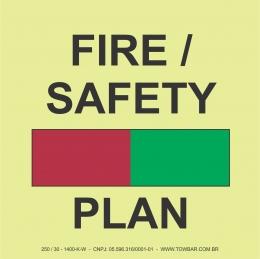 Plano de Segurança e Incêndio (Fire and safety plan)