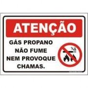 Gás propano não fume