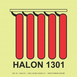 Halon 1301 Battery