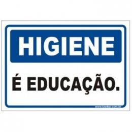 Higiene é educação