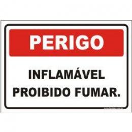 Inflamável proibido fumar
