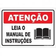 Leia o Manual de Instruções