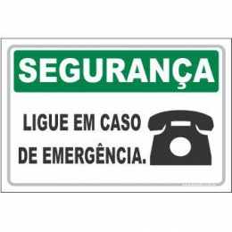 Ligue Em Caso de Emergência