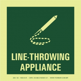 Line-Throwing Appliance
