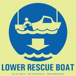 Lower Rescue Boat