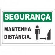 Mantenha distância