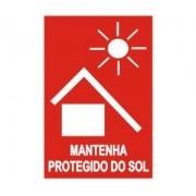 Mantenha protegido do sol