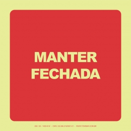 Manter Fechada