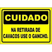 Na Retirada de Cavacos Use Gancho