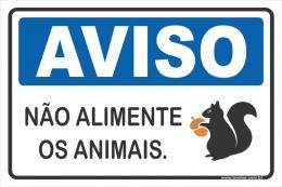 Não Alimente Os Animais