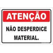 Não Desperdice Material