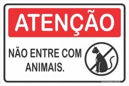 Não Entre Com Animais