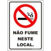 Não fume neste local