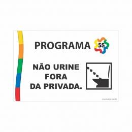 Não Urine Fora da Privada