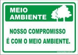 Nosso compromisso é com o meio ambiente