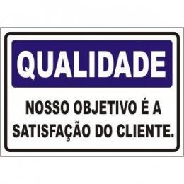 Nosso objetivo é a satisfação do cliente