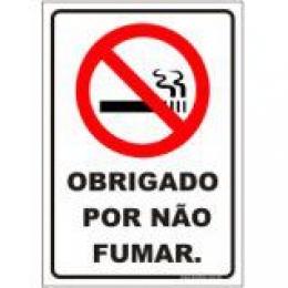 Obrigado por não fumar