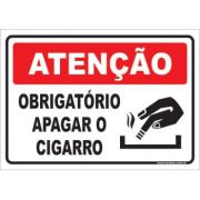 Obrigatório Apagar o Cigarro