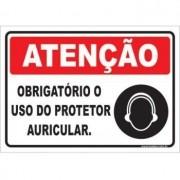 Obrigatório o Uso de Protetor Auricular