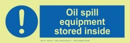 Oil Spill Equipment Stored Inside