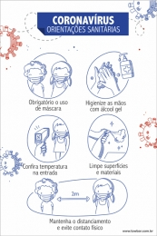Orientações Sanitárias Escola - Covid -19
